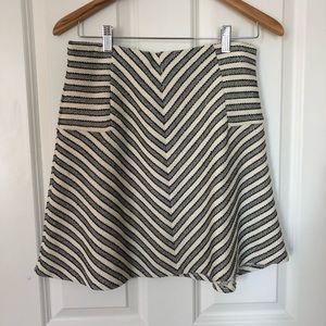 LOFT skirt with elastic waist